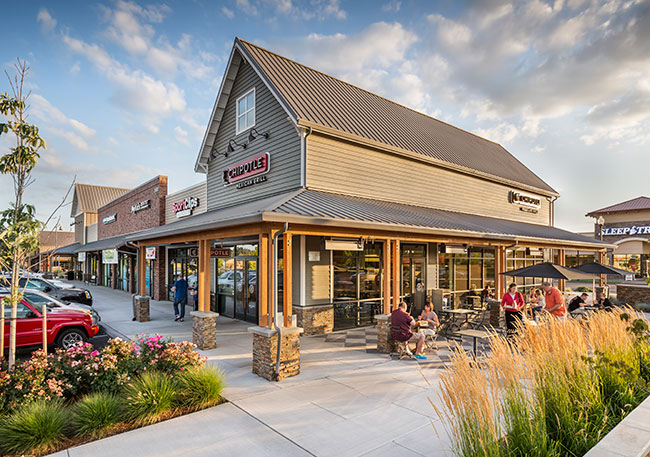 Parkway Village At Sherwood Gramor Development For Lease Retail