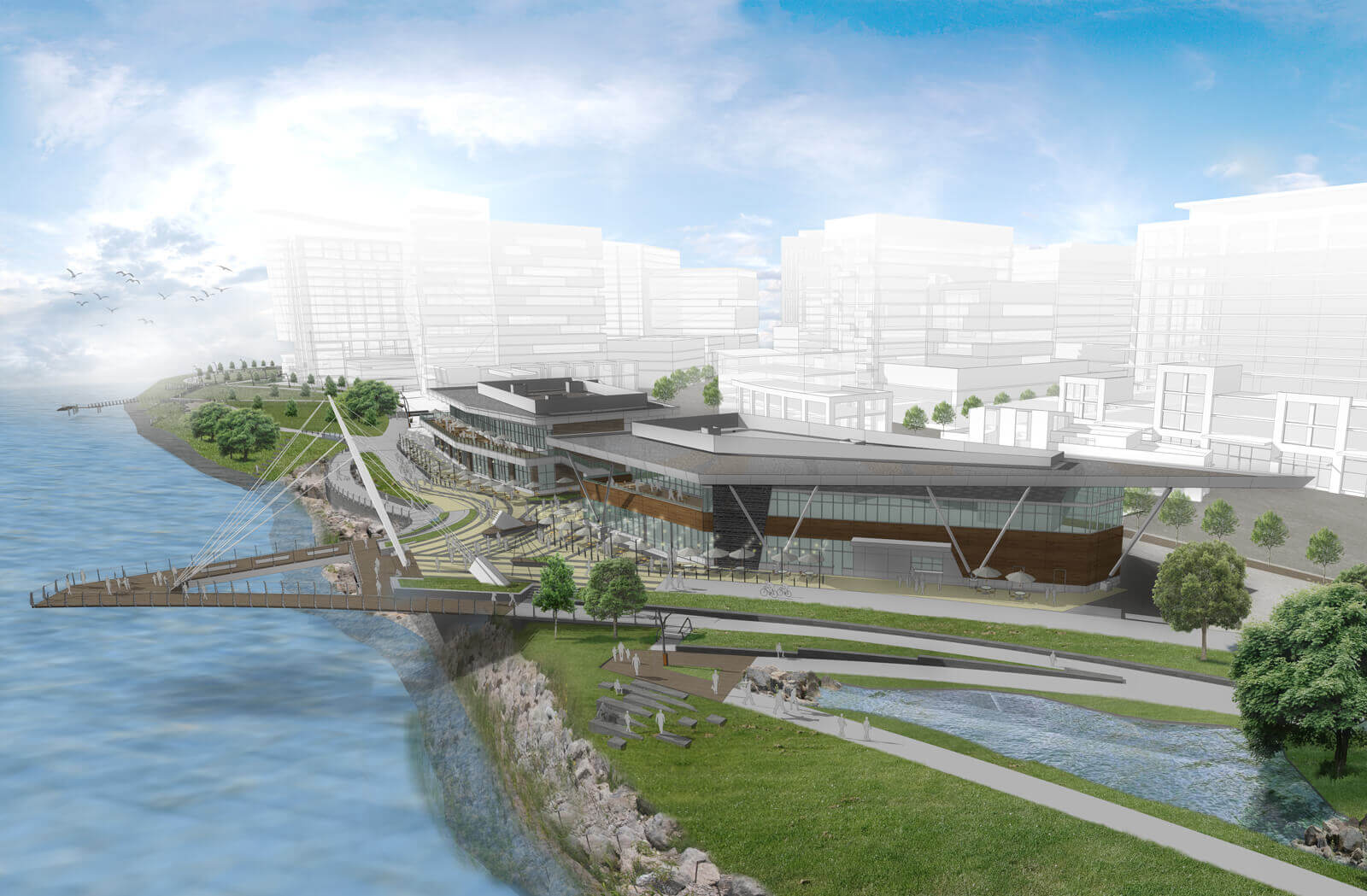 The Waterfront Vancouver Gramor Development Current Developments Shopping And Retail